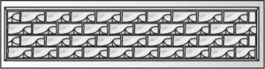 декоративный забор панель-3