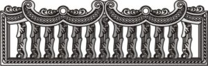 Декоративный забор панель-17