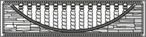 Декоративный забор панель-49