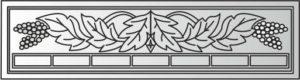 Декоративный забор панель52