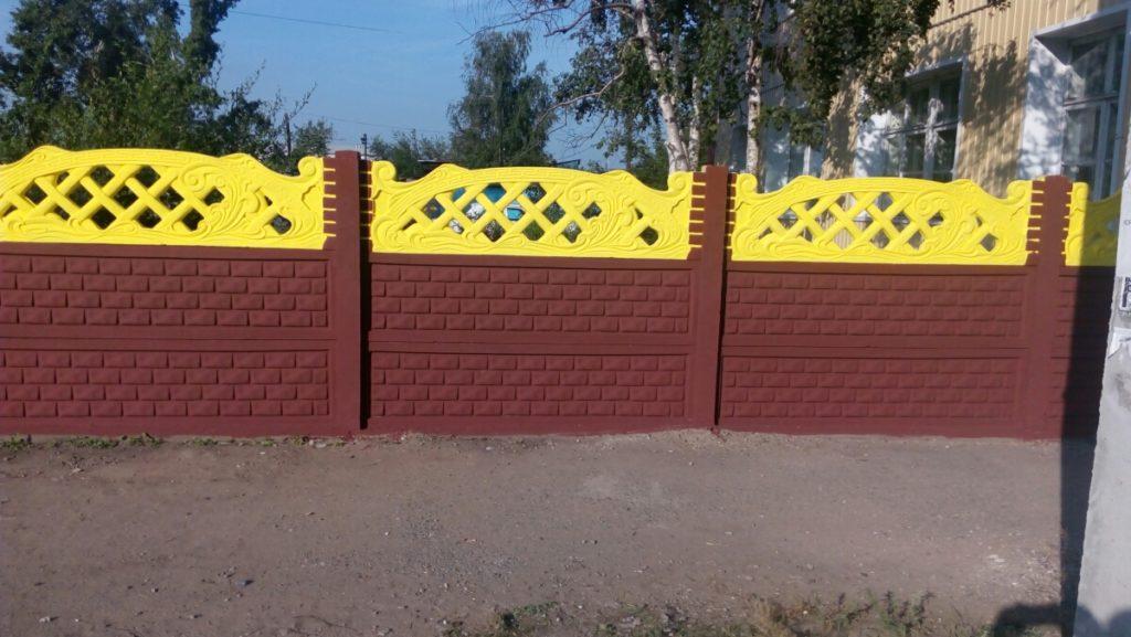 Готовый забор № 3-138