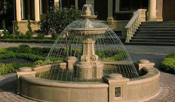 фонтан колокол